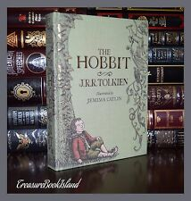 Hobbit By J.R.R. Tolkien Illustrated by J. Catlin Cloth Bound Hardcover Gift
