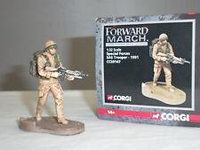 CORGI CC59147 FORWARD MARCH BRITISH SAS TROOPER 1991 METAL TOY SOLDIER FIGURE