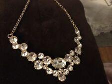 avon rhinestone  formal statement necklace
