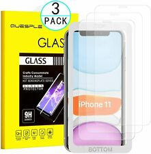 Apple iPhone 11 iPhone XR  Screen Protector 3 Packs For Apple 6.1 Tempered Glass