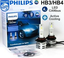 HB3 HB4 LED PHILIPS Ultinon Essential Car Head Light Bulbs 6500 K +200% 12V/24V