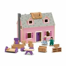 Melissa and Doug Fold & Go Mini Dollhouse - 13701 - NEW!