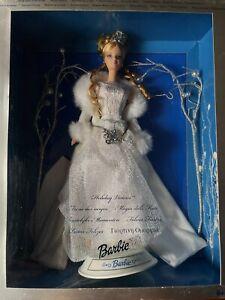 """Barbie da collezione """"HAPPY HOLIDAYS"""" Magia delle feste 2003 MATTEL art. B2519"""