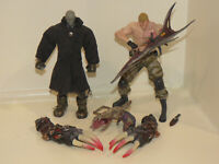Resident Evil Figures MR X TYRANT Toy Biz 1999 and KRAUSER - Action Figure X2