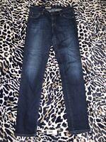 38E👖Adriano Goldschmied AG  Stilt Cigarette Leg Womens Sz 28R Jeans Meas. 29x31