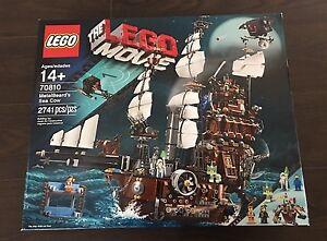 LEGO The LEGO Movie Metal Beard's Sea Cow (70810) New & Sealed Retired