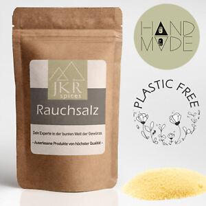 2000g Rauchsalz Hickory Smoked Salt Würzsalz plastikfrei verpackt JKR Spices