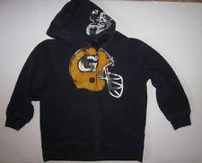 GAP Kids Boys Cotton Fleece Hoodie Navy Size M (8)