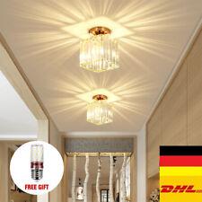 LED Kristall Kronleuchter Deckenleuchte Beleuchtung Deckenlampe Wohnzimmer Flur