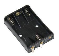 Lot 5 Porte-piles 3xAAA LR03 boîtier pour 3 piles ou accus fiche prise chassis