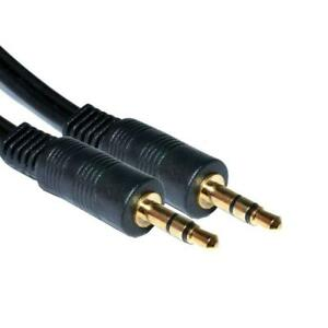 3.5mm Jack Male to Male Plug Aux Cable Audio Lead For Headphone/MP3/iPod/Car Lot