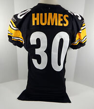 2004 Pittsburgh Steelers Cedric Humes #30 Game Issued Black Jersey
