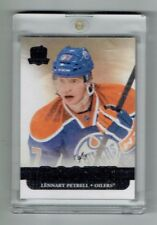 11-12 UD Upper Deck The Cup  Lennart Petrell  1/1  Rookie  Black Spectrum  LILGA
