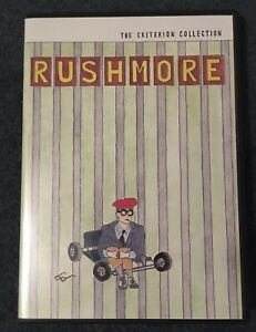 Criterion Collection - Wes Anderson's Rushmore 2000 DVD NEW unsealed