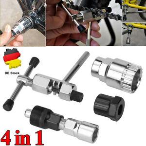 Fahrrad Werkzeug Tretlager Kurbelabzieher Kurbel-Abzieher Reparatur Set 4in1-DHL