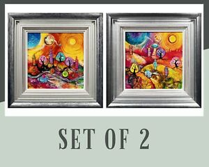 KERRY DARLINGTON - SPACE HOPPING + SPACE TRAVEL  - SET OF 2