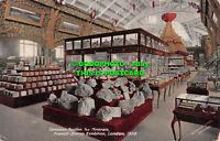 R544993 London. Franco British Exhibition. Canadian Pavilion. The Minerals. Vale