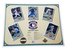 "1992 Upper Deck MLB Baseball Baseball Heroes 11"" X 8.5"" Promotional Sheet"