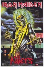 "IRON MAIDEN ""KILLERS"" Album Poster [Licensed-NEW-USA] 22.5""x34"" (1981)"
