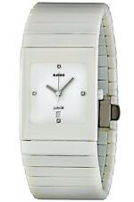 Rado R21711702 Ceramica Jubile Men's White Ceramic Dress Watch