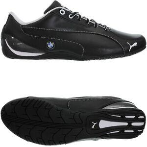 Puma Drift Cat 5 BMW NM schwarz Herren low-top Sneakers Lederschuhe Freizeit NEU