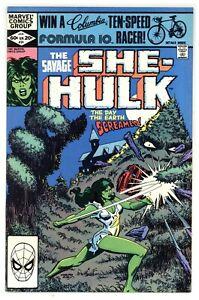 Savage She-Hulk 24 vs Earth-Lord! bonus pin-up pages 1982 Marvel Comics C497
