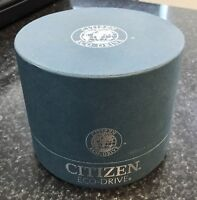 Genuine Citizen Watch Box Case Authentic Fashion 4 x 4 x 4 Blue/Green Color