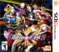 Project X Zone 2 (Nintendo 3DS, Monolith/Bandai Namco) -Brand New/Factory Sealed