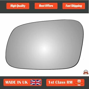 Left Passenger Convex Wing Mirror Glass Land Rover Discovery 2 1995-2004 112LS