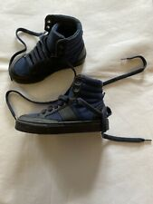 GAP Kids Boys Hi Top Trainers Blue Shoes UK 11