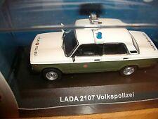 LADA 2107 VoPo VP Volkspolizei 1972 DDR 1:43 IST CARS&CO limitiert 999 St.