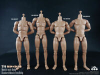 COOMODEL 1/6 Scale Muscle Male Body Model Flexible Soldier Figure Collection Toy