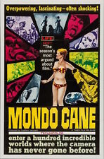 MONDO CANE one sheet movie poster 27x41 JACOPETTI PROSPERI 1962 VERY RARE