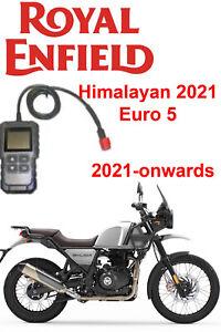 Royal Enfield Himalayan 2021-onwards FI OBD fault code scanner diagnostic tool