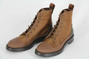 HUGO BOSS Boots, Mod. Montreal_Halb_nyctFS, Gr. 44 / UK 10 / US 11, Medium Brown