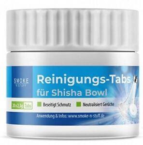 Smoke n Stuff Shisha Reinigungstabs | Shisha Reiniger für die Wasserpfeife