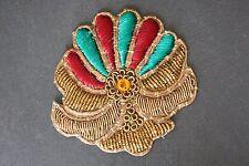 Jasdee Vintage Applique Patch HandWork Emboidery & Gotta Work Style A1354
