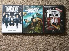 Shaun of the Dead, Men In Black II, Journey to the Center of the Earth  3 DVD's