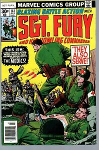Sgt.Fury and his Howling Commandos 141    Marvel 1977