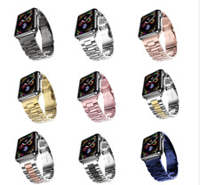 Correa Pulsera de acero eslabones para Apple Watch series 1 2 3 4 5 6