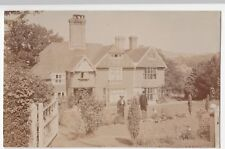 Sussex; Unknown Arts & Crafts House RP PPC, Tidebrook, Wadhurst Station PMK 1909