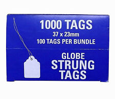 37x23mm Pre-Strung Swing Tags. 71870