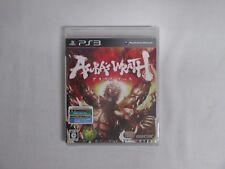 PlayStation3 -- ASURA's WRATH -- New. PS3. JAPAN GAME. 59451