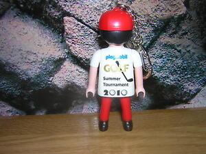 ( C 14 / 2 )  Golfspieler Golf 2010 Schlüsselanhänger Promo Figur Sonderfigur
