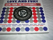 Various Artists - Love and Fury (Gems from the Decca Vaults UK 1961-62) CD X 3