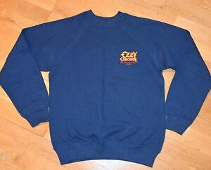 *1986 OZZY OSBOURNE* vtg concert tour sweatshirt shirt (S/M) 80's Black Sabbath