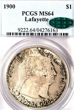 1900 $1 Lafayette MS64 PCGS/CAC-ONLY 448 IN HIGHER GRADE-SILVER COMMEMORATIVE
