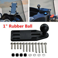 "1"" Rubber Ball Motorcycle Pump Mount Base For Hero Camera/Camcorders/Smartphone"
