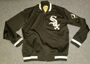 Mitchell & Ness Chicago White Sox Zip Up Track Jacket 48 XL Mens