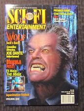 1994 SCI FI Channel ENTERTAINMENT Magazine v.1 #1 VF+ Jack Nicholson - Star Trek